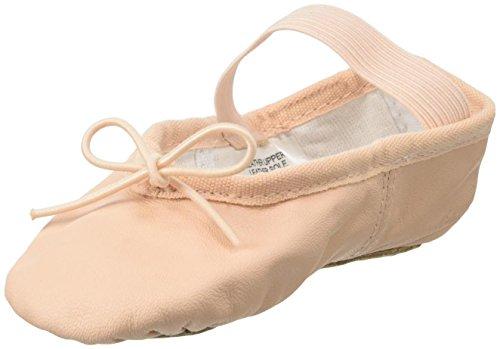 Bloch Baby-Girl's Dance Toddler's Dansoft Full Sole Leather Ballet Slipper/Shoe, Pink, 6.5 B Tod