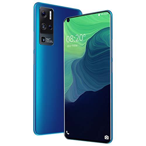 5G Smartphone, X50 Pro + 7,0  FHD + Schermo Perforato Sinistro, 12GB RAM+ 512GB ROM, Dual SIM Cellulare, Batteria 5500mAh, Sblocco Viso, Android 10