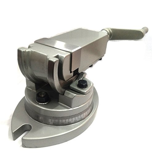 Precisión fresadora de tornillo giratorio y ángulo inclinado 2 mandíbula de 5 cm (50 mm)