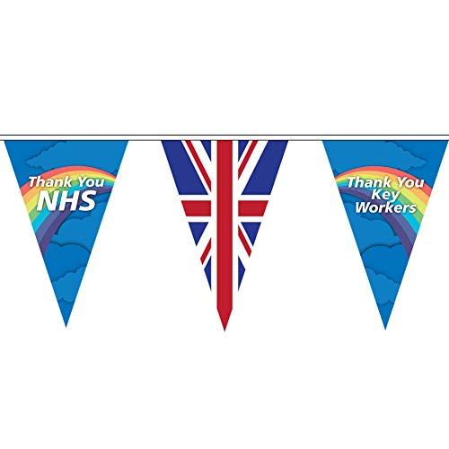 Life's A Breeze Banderole pour NHS et Keyworker Environ 9 mètres