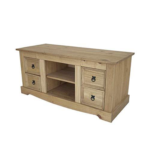 Mueble para TV Fazenda pino macizo encerado