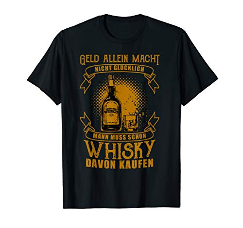 Whisky Lustig Funny Fun Whisky T-Shirt