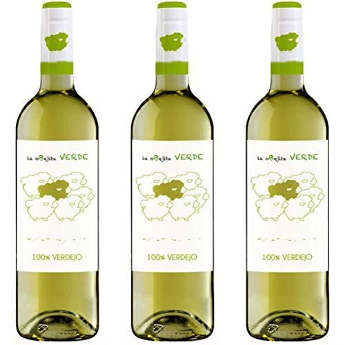 Obejita Vino Blanco - 3 botellas x 750ml - total: 2250 ml
