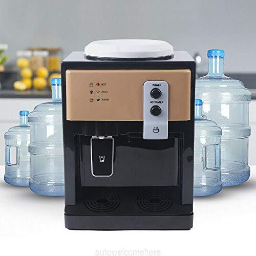 Elektrischer Wasserspender, Heiß und Kalt-Wasserspender Wasserkühler Heißwasserspender 550W Wasserspender Heißwassergerät Home Office Desktop Verwenden