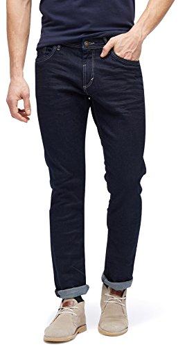 TOM TAILOR Herren 5 Pocket Slim Jeans, Blau (Rinsed Blue Denim 1100), W40/L32 (Herstellergröße:40)