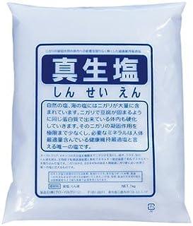 真生塩 1Kg  にがりの凝固作用を取り除いた塩