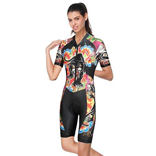 Lpfkkk 2019 Pro estate ciclismo tuta abbigliamento da mountain bike da donna MTB abbigliamento da bici wear tuta taglia: M