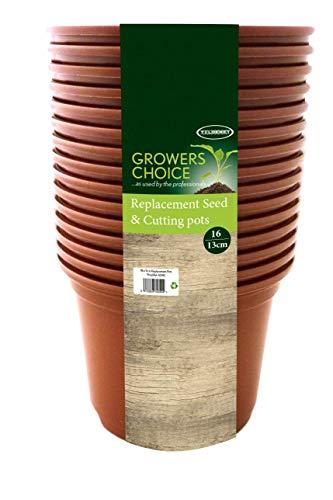 Bosmere 16 x 13 cm N240 -Samen- und Schneidtöpfe