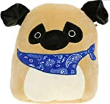 Kellytoy Squishmallow Prince The Pug Super Soft Plush Toy Pillow Pet Pal Buddy (8 inches)