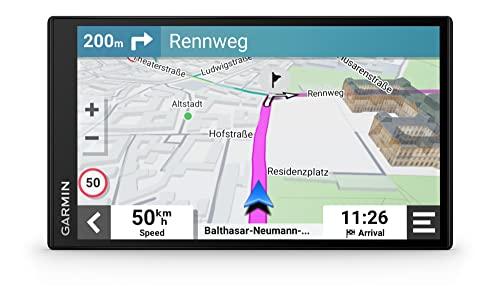 Garmin DriveSmart 76 EU MT-D, navegador GPS para Coche de 7' con mapas de Toda Europa de por Vida y tráfico Digital
