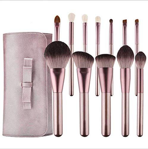 XHDMJ Beauty Tools Pinceau De Maquillage pour Débutant, Fard À Paupières Correcteur pour Débutants, avec Sac De Rangement