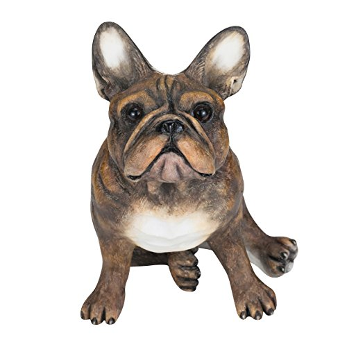 Chapman Sculptures French Bulldog Hand Painted Statue 5.7' (Brindle)