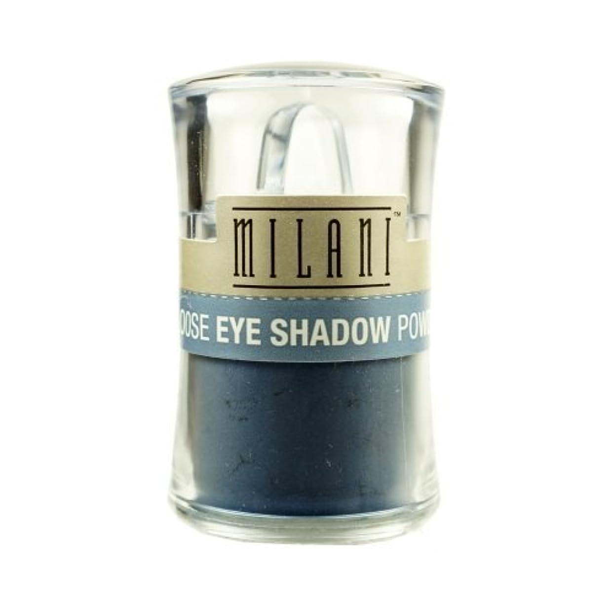 郵便幸運古風な(3 Pack) MILANI Loose Eye Shadow Powder - Misty Blue (並行輸入品)