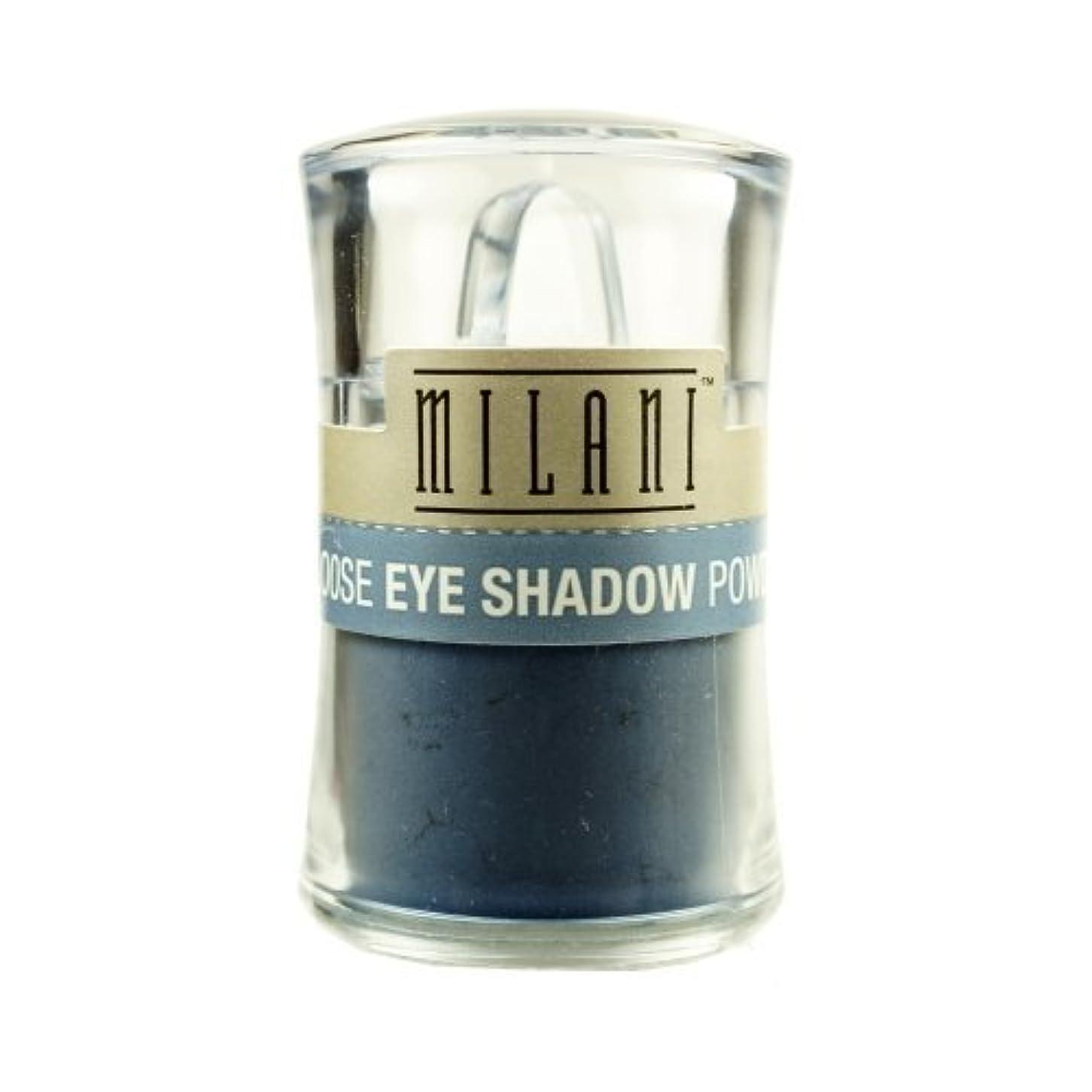 被る大脳アメリカ(3 Pack) MILANI Loose Eye Shadow Powder - Misty Blue (並行輸入品)