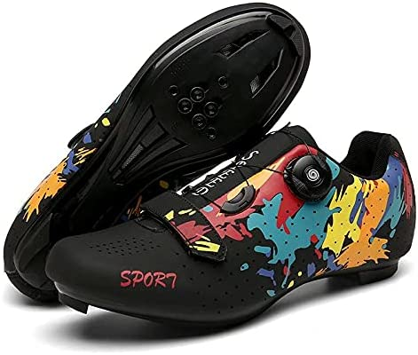 Ksmhmm Mens Outdoor Cheap bargain Sports Shoes Bike Peloton Road Cycling A surprise price is realized