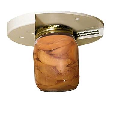 EZ Off Jar Opener For All Jar Sizes, White