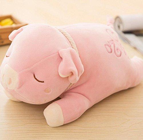 IU Desert Rose Lindo Peluche de Juguete Niños creativos Juguetes durables de Peluche de Felpa Forma de Cerdo Animal Toys Muñeca Almohada muñecas de bebé de Juguete Mini muñeca para niñas y niños Cali