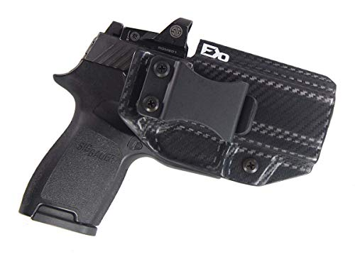 Fierce Defender FDO Industries (Formerly IWB Kydex Holster Sig P320c RX w/Optic Cut The Winter Warrior Series -Made in USA- (Carbon Fiber)