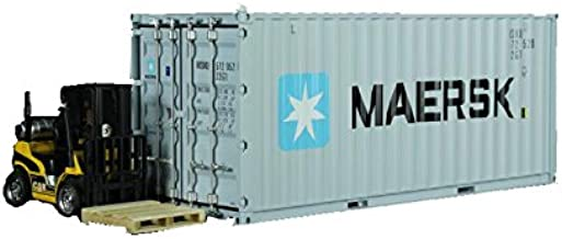 1:20 Maersk Shipping Container Model Abs Resin & Wood Toy Home Decoration Gift