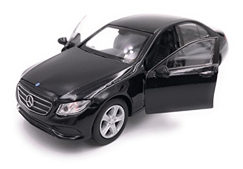 H-Customs Mercedes Benz E Klasse Modellauto Auto Lizenzprodukt 1:34-1:39 Schwarz
