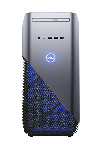 Dell Inspiron DT 5680 Desktop (Intel Core i5 8400, 1TB HDD + 128GB SSD, NVIDIA GeForce GTX 1060 with 3GB GDDR5, DVD RW, Win 10 Home 64bit German) aufdeckung blau
