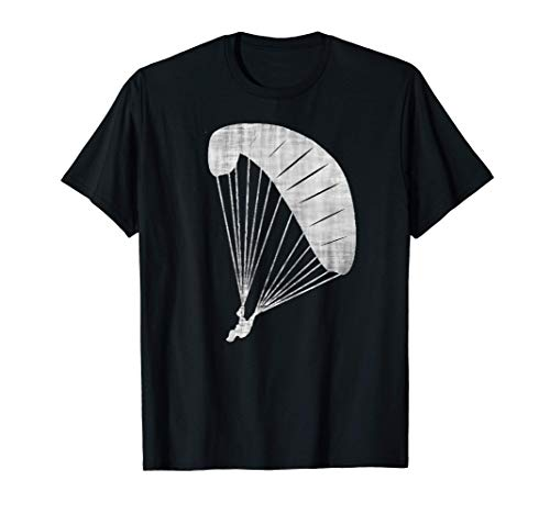 Cooles Paraglider Gleitschirm und Fallschirm Geschenk T-Shirt