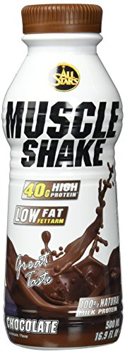 All Stars Muscle Shake, Schoko, 6er Pack (6 x 500 ml)