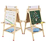 Best Kids Easels - USELUCK Easel for Kids with Paper Roll Double Review