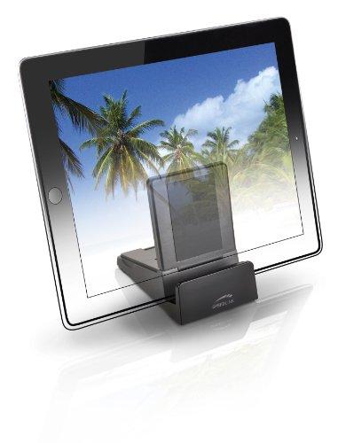 Speedlink Cavity universeller Tablet-Stand (Tablet-Ständer zur Arbeitserleichterung, zwei Stellwinkel 55 & 70 Grad), schwarz
