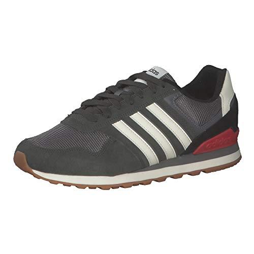 adidas 10K, Zapatillas de Running Hombre, TIELEY/BLACRE/Gricua, 42 EU