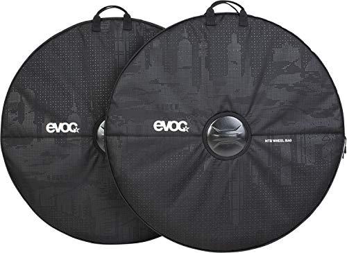 evoc Unisex_Adult MTB WHEEL BAG Bike Travel Accessories, Black, standard size