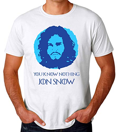 You Know Nothing Jon Snow Portrait Männer T-Shirt Small