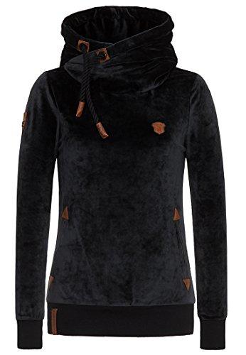 Naketano Female Zipped Jacket Darth Mack II Black, S
