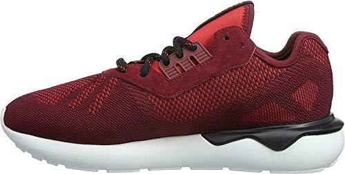 adidas Herren Tubular Runner Weave Laufschuhe, Rot (Collegiate Burgundy/Collegiate Burgundy/Core Black), 40 2/3 EU