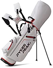 【公式】 PYKES PEAK「パイクスピーク」キャディーバッグ スタンド【軽量 2.4kg/ 5分割口枠/ 9.0 型/ 47インチ対応】 ゴルフバッグ メンズ レディース COOL SERIES