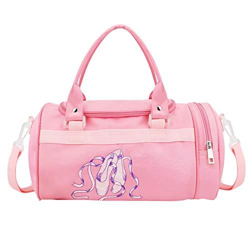 HIFOT Süße Balletttasche Sporttasche Mädchen,Prinzessin Handtasche Kindertasche Schwimmtasche, Kleine Geschenke für Kinder-Reisetasche