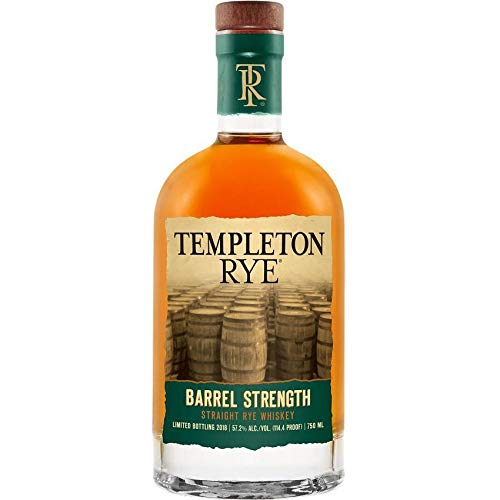 TEMPLETON RYE WHISKEY IN FASSSTÄRKE 70 CL