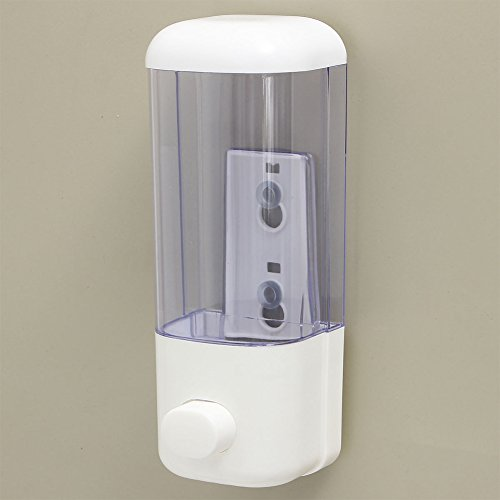 Metermall Home 500ML Wall Mounted Soap Dispenser Bathroom Sanitizer Shampoo Shower Gel Container Bottle