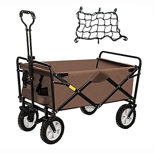 Yongqin, carrello da picnic resistente e pieghevole per...
