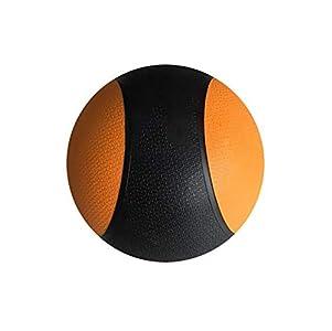 Yajun Balón Medicinal Ejercicio Ball Pesada Goma Duradera Distribución De Peso Constante Comodidad Agarre Texturizado para Entrenamiento De Fuerza,7kg