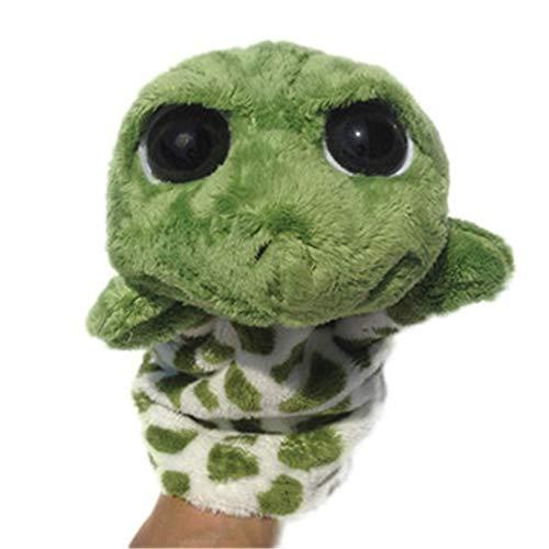 changshuo Plüsch Handpuppe Nette Kurze Plüsch Handpuppe Säugling Cartoon Schildkröte Puppe Bauchredner Interaktive Kinder Marionette Spielzeug Gefüllte Baumwolle Muppets