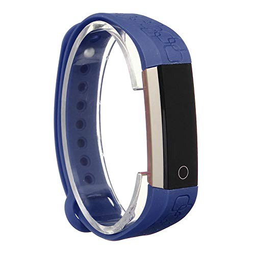 KINGDUO K2 Impermeabile 0.86 inch OLED Frequenza Cardiaca Sport Braccialetto Smart Band iPhone Android iOS-Viola