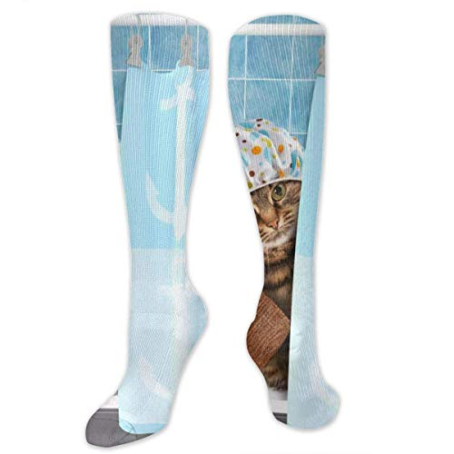 ksale Divertido gato de baño con toalla pato juguetes en