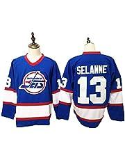 NHICR Jet sėlnë - Camiseta deportiva de manga larga para hombre, para hockey sobre hielo, para entrenamiento, cómoda y para hacer ejercicio