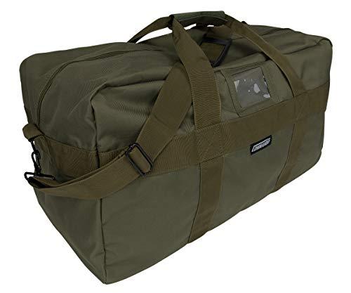 Grand sac de sport et de voyage US Army Airforce en nylon - 57 L - 3 couleurs, Oliv, 57l