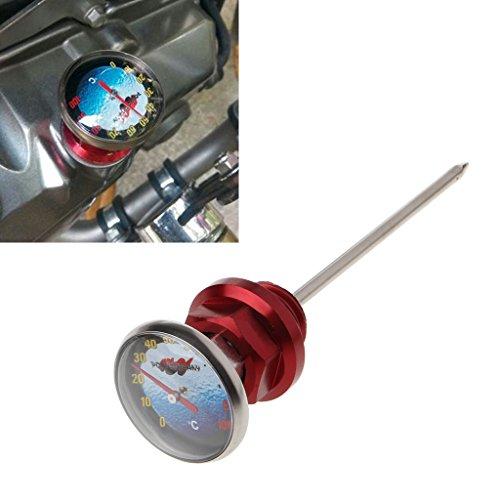 NysunshineMotorcycle Dirt Pit Bike Parts Oil Cap Tank Temperaturmessung Für 110cc 125cc
