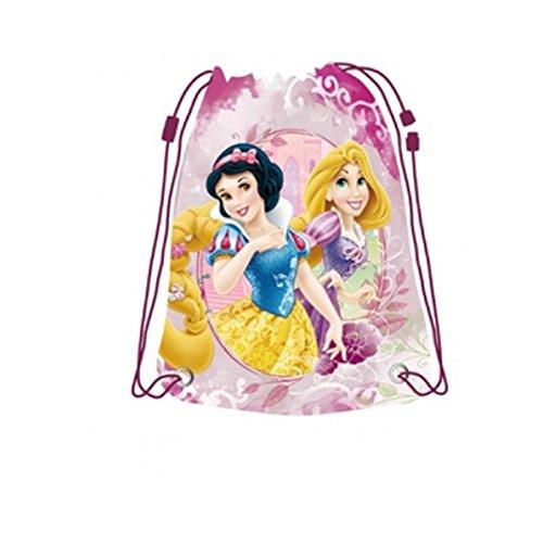 GUIZMAX Sac Souple Disney Princesse Gym Piscine Ecole Sac a Dos Tissu