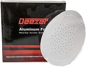 Deezer Premium Heavy Duty Hookah Foil Aluminum Foil with Holes For Nargile Bowl