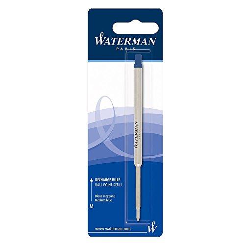 Waterman Ersatzmine (für Kugelschreiber mit mittlerer Spitze) 1Stück blaue tinte