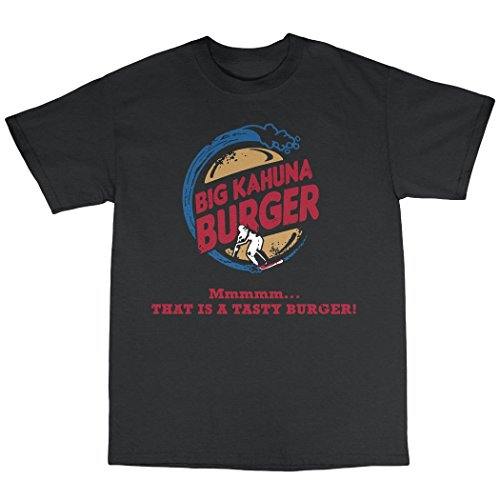 Bees Knees Tees Big Kahuna Burger T Shirt Black
